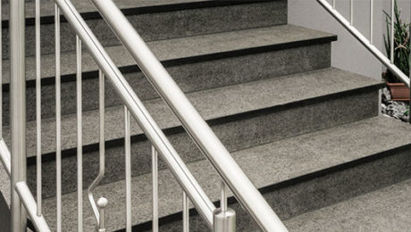 Escaleras de granito