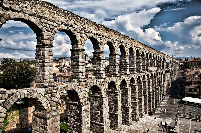 Acueducto de Segovia - Mamposteria